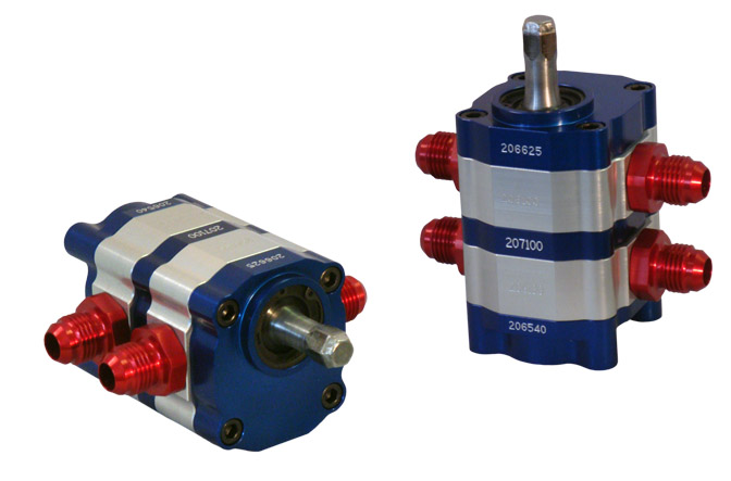 2-stg hex-drive bearing pump