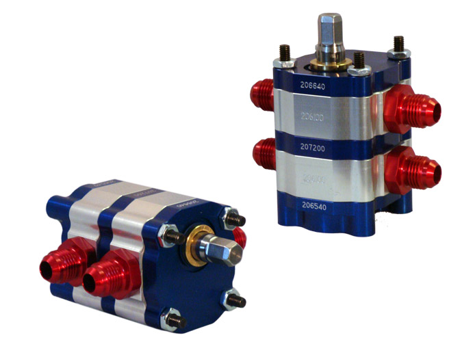 2-Stage Hex-drive Pump